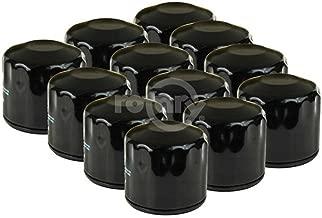 Shop Pack of 12, Oil Filters For Kohler 12 050 01, 12 050 01-S, 1205001S, John Deere AM125424, GY20577