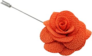 Imani Uomo Men's Pattern Camellia Flower Lapel