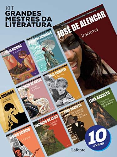 Kit Livros Grandes Mestres Da Literatura - 10 Livros