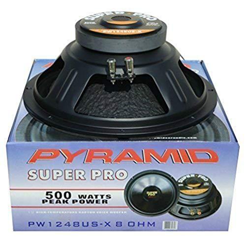 HAUT PARLEUR DIFFUSEUR WOOFER PYRAMID PW1248USX PW 1248 USX DE 30,00 CM 300 MM 12\