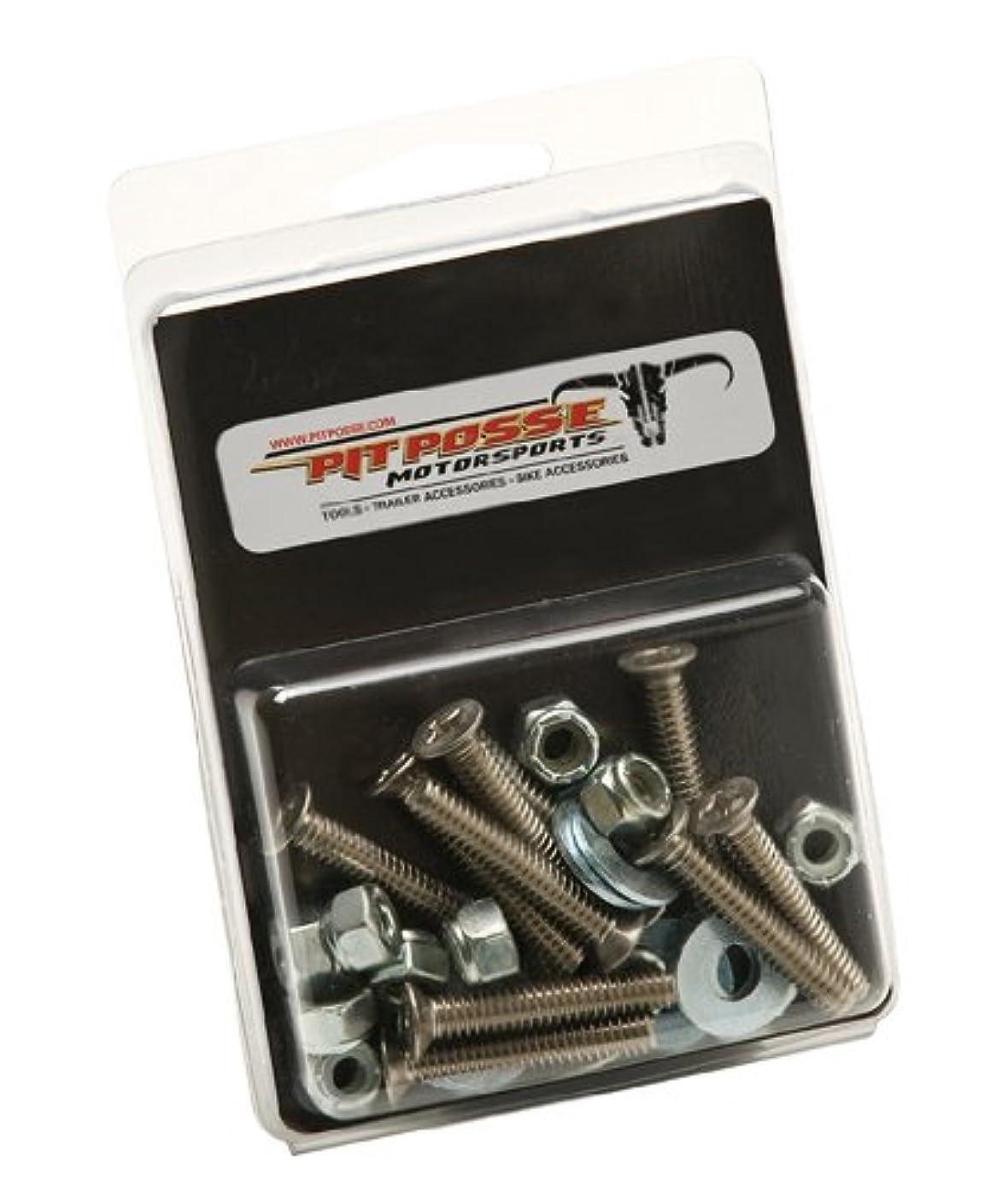 Pit Posse S Track Anchor Mounting Hardware Kit