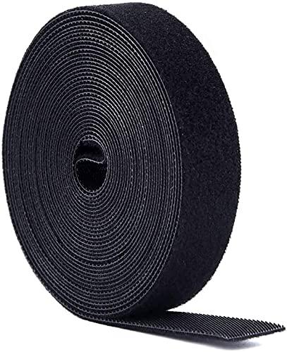 Bridas, Presilla Reutilizables, 5m x20mm Doble Cara Cables 1 rollo, Cinta para...