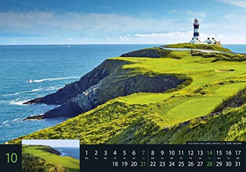 Golf 2018 – Sportkalender / Golfkalender international (49 x 34) - 2