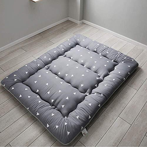 Tatami Bodenmatte, faltbare Matratze Japanische Mattmatte Verdicken Matratze Topper Tragbare Isomatte Schlafsaal Bodenmatratze-b 100x200cm (39x79inch)
