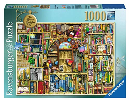 Ravensburger Bizarre Bookshop 2 1000 Piece Jigsaw Puzzle for Adults - Every Piece is Unique, Softclick Technology Means Pieces Fit Together Perfectly