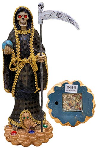 Allianc -Santa Muerte Saint of Holy Death 13' Inch Santisima Muerte Sculpture