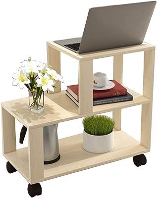 Amazon.com: Tribesigns - Mesa auxiliar moderna para salón, 3 ...