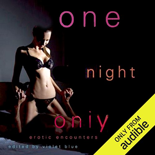 One Night Only audiobook cover art