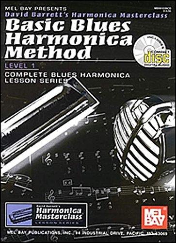 Basic Blues Harmonica Method Level 1 (Harmonica Masterclass