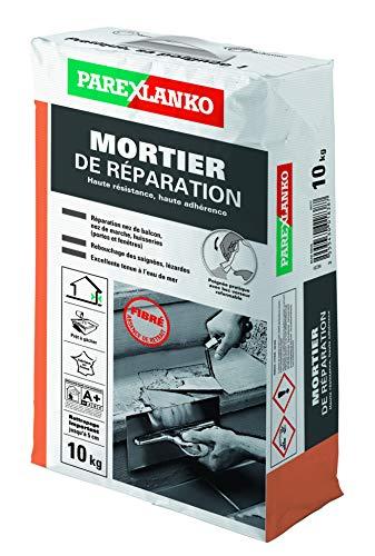 PAREXLANKO Mortier de réparation fibré multiusages. 10Kg