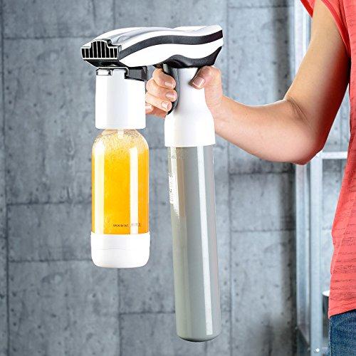 Rosenstein & Söhne Trinkwassersprudler: Getränke-Sprudler für Soda-Wasser, Softdrinks, Saft-Schorle, Limonade (Multi Getränke und Wassersprudler) - 5