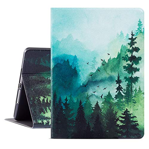 iPad Air 2 Case, Glowish 9.7 ipad 6th/ 5th Generation Cases Premium Leather Folio Case and Multiple Viewing Angles Stand for iPad Air 2/1(Water Color)