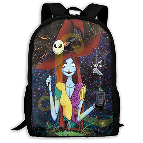 Sally Nightmare Before Christmas Witchcustomized Leisure Backpack School Bag Travel Backpack Gift