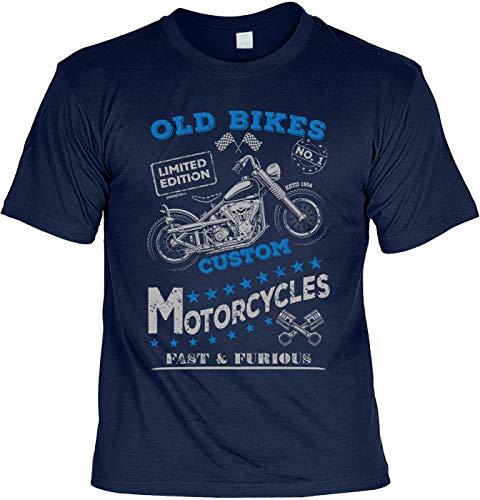 Biker T-shirt Old Bikes Custom Motorcycles Fast & Furious Cool Motorfiets Laiberl Biker