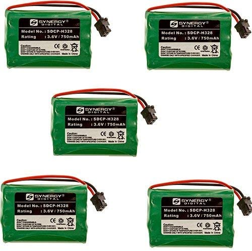Radio Shack Weekly update 43-3580 Cordless Battery Combo-Pack Tucson Mall Phone Includes: