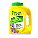 Preen 2164174 Garden Weed Preventer + Plant Food - 7 lb. - Covers 1,120 sq. ft.