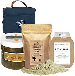 Moroccan Bath & Shower Set - Argan Oil Formula