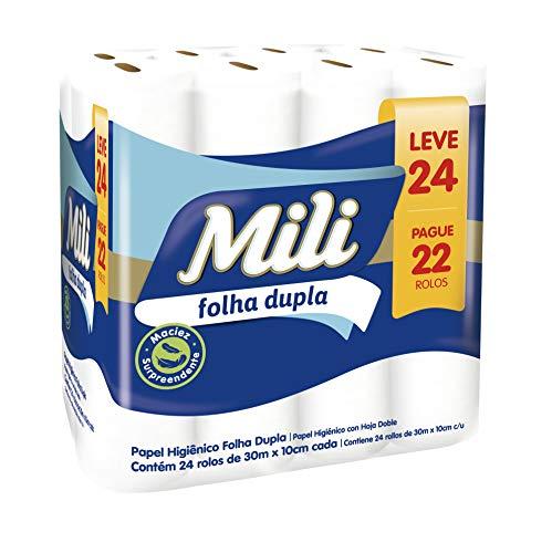 Papel Hig, Mili, pacote de 24