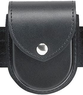 Safariland Duty Gear Chrome Snap Flap Top Double Handcuff Pouch (Plain Black)
