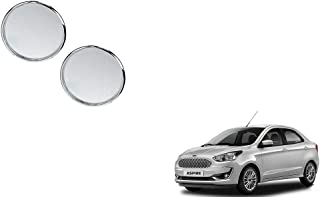 Autoladders Chrome Blind Spot Mirror Set of 2 for Ford Aspire