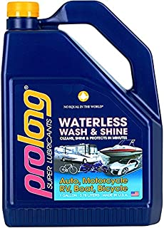 Prolong Super Lubricants PSL64128 Waterless Wash and Shine - 1 Gallon