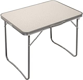 comprar comparacion Aktive 52814 Mesa plegable camping Sport, 80 x 60 x 70 cm Blanca