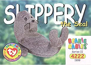 BBOC Cards TY Beanie Babies Series 2 Common - Slippery The Seal