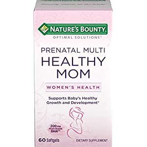Nature's Bounty Optimal Solutions Healthy Mom Prenatal Multi, 60 Softgels