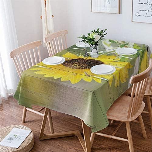 Womenfocus Rectangle Tablecloth for Outstanding Kitchen S Fresh Farm Dinning Long Beach Mall