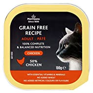 Morrisons Premium Pate with Chicken for Adult Cats 100 g x 17