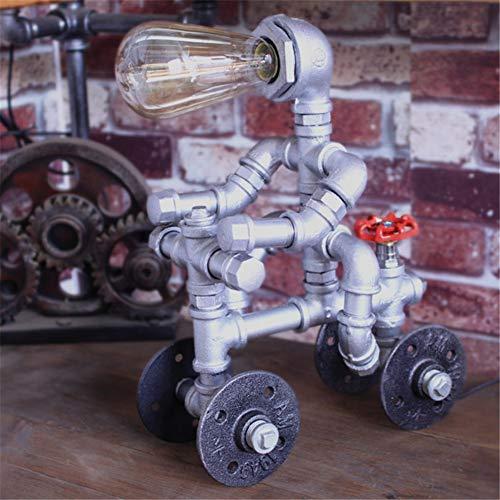 XZYP Wasserrohr-Lampe, Retro Industrielle Windwandlampe, Kreative Eisenrohr, Nachttischlampen, Diele Ganglampe, Wandlampe