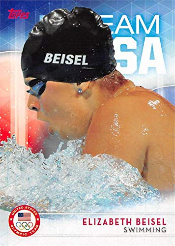 Elizabeth Beisel trading card (United States Olympic Team, Swimming) 2016 Topps #73