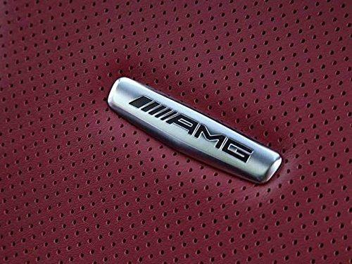 AMG Mercedes Chrom Seat Logo Neu Original Alle Mercedes Modelle 63946749-FA-1 für Modelle von 2012