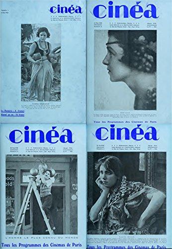 Cinea Magazine 1921 Mai. Tous les Programmes des Cinemas de Paris. 4 Issues. (Classical french film magazines Book 1) (English Edition)