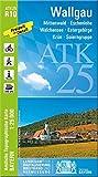 ATK25-R10 Wallgau (Amtliche Topographische Karte 1:25000): Mittenwald, Eschenlohe, Walchensee, Estergebirge, Krün, Soierngruppe, Werdenfelser Land, ... Amtliche Topographische Karte 1:25000 Bayern)