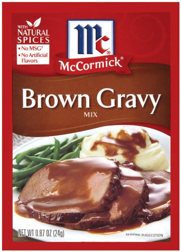 McCormick Brown Gravy Mix 0.87-Ounce Units 48 Pack of 5 ☆ popular Free shipping
