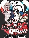Harley Quinn Coloring Book VOLUME 2: A Cute adults Coloring Book Of HARLEY QUINN, joker, dc, poison ...