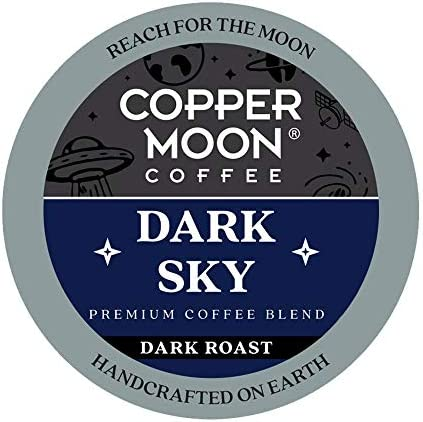Copper Moon Single Serve Coffee Pods Compatible with Keurig K Cup Brewers Dark Sky Blend 36 product image