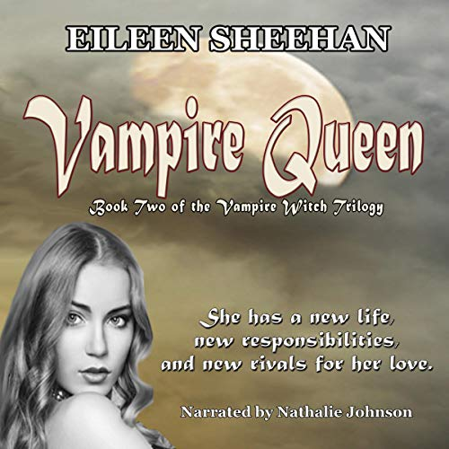 Vampire Queen audiobook cover art