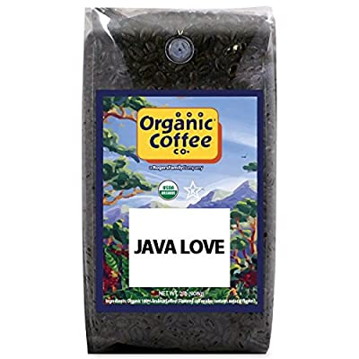The Organic Coffee Co. Whole Bean Coffee, 2 Pound