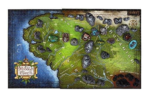 4D Cityscape 51100 4D Hobbit Middle Earth Time Puzzle (1390 Piece)