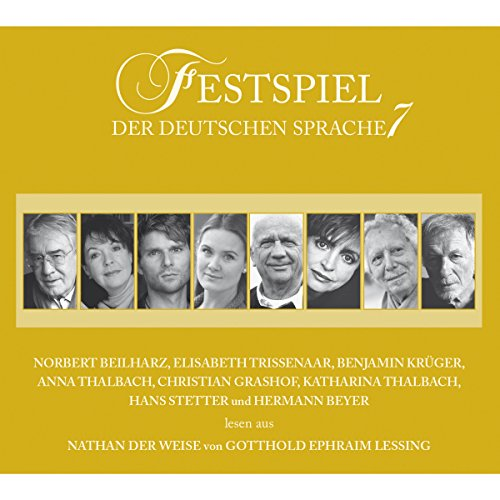 Nathan der Weise (Festspiel der deutschen Sprache 7) audiobook cover art