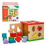 Caja actividades de madera