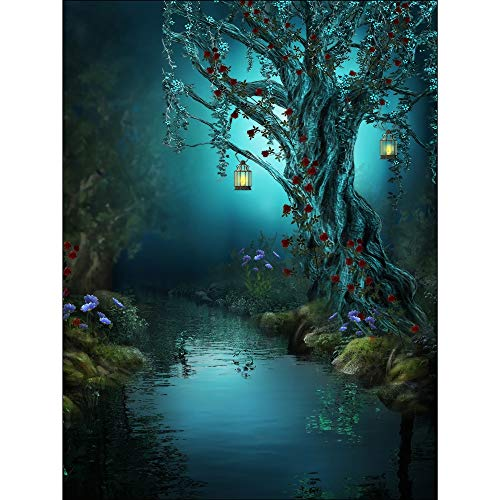 Puzzle Beautiful Fantasy Magic Forest Jigsaw Adults Wooden Super Difficult Challenge Decorative Educational Toys 500/1000/2000/3000/4000 Pieces 0414 (Size : 1000 Pieces)