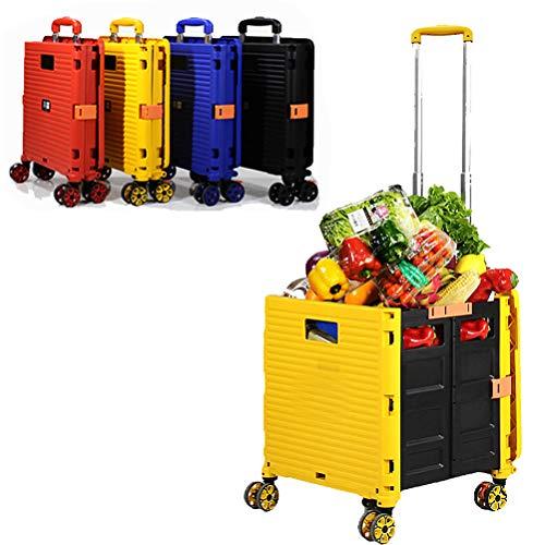Carro plegable para botas, supermercado, carrito de compras, caja de almacenamiento plegable...