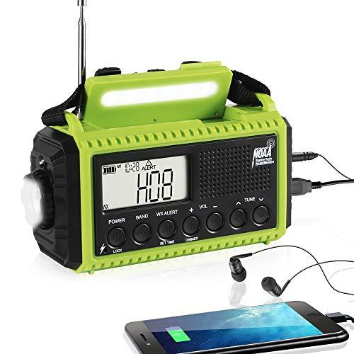 Emergency Radio Hand Crank Solar Weather Radio
