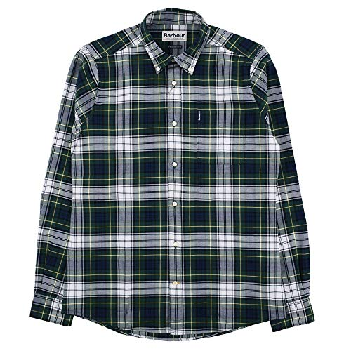 Barbour Highland Check 11 Tailored Shirt grün Gr. M, grün