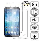 Guran [3-Unidades] Protector de Pantalla Vidrio Cristal Templado para Samsung Galaxy Mega 6.3 i9200 Smartphone Cristal Vidrio Templado Film (9H, 2.5D Edge, 0.3mm)