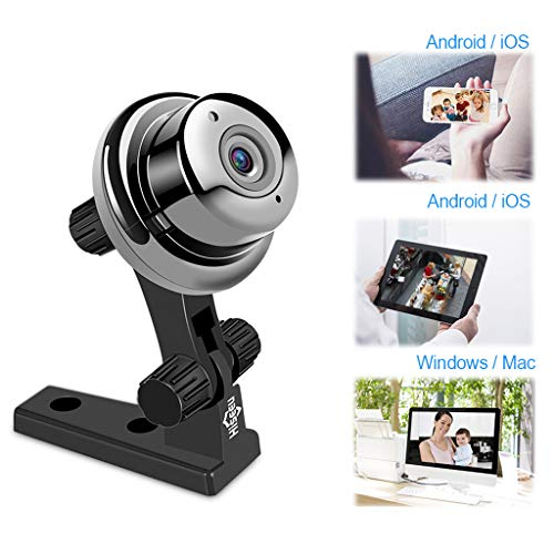 BABY MONITOR ZLMI Alarme de détection de Mouvement de caméra réseau à Distance sans Fil pour Moniteur de bébé 1 Million (dpi) Compatible avec Android/iOS/Ordinateur