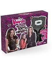 Chica Vampiro, Mon coffret 100 % vampire: Ton guide du parfait vampire ; tes dents et ta cape de vampire